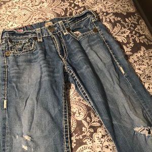 True religion jeans boot cut size 33 men's